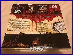 The Evil Dead Anthology Necronomicon Book Of The Dead & Kandarian Dagger 7 Discs