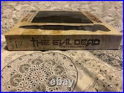 The Evil Dead Anthology New & Sealed Book Of The Dead & Kandarian Dagger Prop