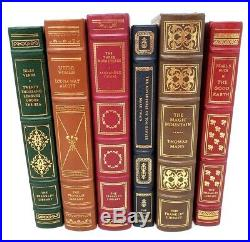 The Franklin Library, Addendum to 100 Greatest Books of All Time 25 Book Lot Set