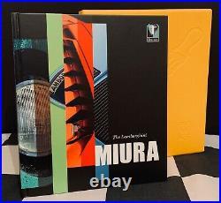 The Lamborghini Miura Book By Simon Kidston Limited Edition 235/ 762 Yellow P400
