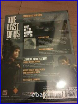 The Last of Us Limited Collectors Edition Hardcover Guide Book Firefly Keychain