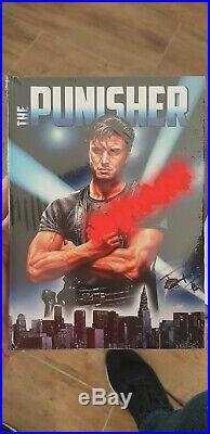 The Punisher Büste + Mediabook OVP