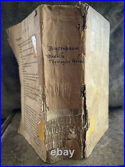 Theology On Mortality & Death 1659 Antique Book Rare