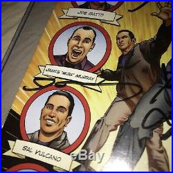 TruTVs Impractical Jokers 2013 Limited Edition Autographed Laminated Comic Book