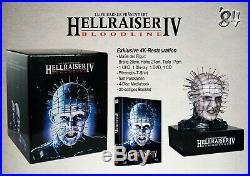 VORBESTELLUNG Hellraiser Box Hellraiser 4 Mediabook-Figur-T-Shirt