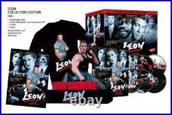 VORBESTELLUNGBR+DVD Leon 6-Disc Mediabook mit Büste inkl. T-Shirt NEU/OVP
