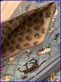 Vera Bradley The Cats Meow Large Iconic Campus Backpack Book Bag Cat Cats New