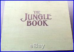 Walt disney the jungle book art portfolio signed rare limited edition box set