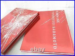YOSHIYUKI SADAMOTO Complete Art Set CARMINE Book Evangelion FLCL 2009 Ltd