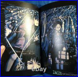 Yoshitoshi ABe Serial Experiments Lain Limited Edition Illustration Art book A